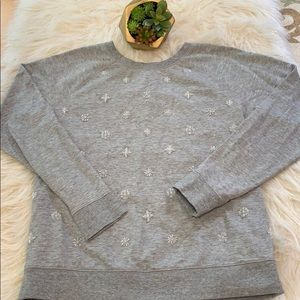 EUC Old Navy Sweatshirt with jeweled details
